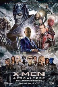 ดูหนังออนไลน์ X-Men: Apocalypse (2016) เอ็กซ์เม็น อะพอคคาลิปส์ HD เต็มเรื่อง พากย์ไทย มาสเตอร์