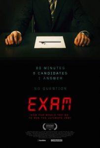 Exam (2009) เกมส์ฆาตกรโหด หนังฝรั่ง ลึกลับซ่อนเงื่อน ระทึกขวัญ