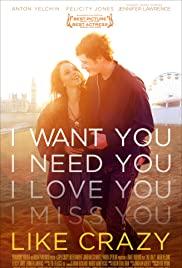 ดูหนังโรแมนติก Like Crazy (2011) รักแรก รักแท้ รักเดียว HD เต็มเรื่อง